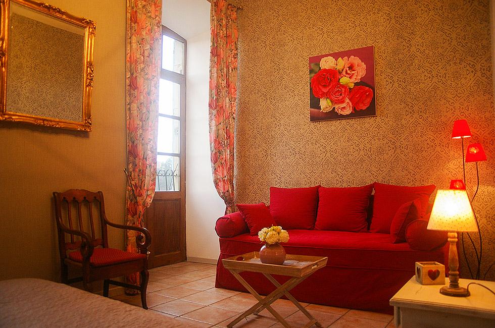 coin salon de la chambre bois de rose - Chambre Bois De Rose